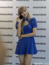 BLACKPINK Lisa meet and greet jakarta indonesia moonshot 3