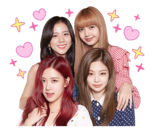 BLACKPINK Official LINE Sticker 2018 photo 2