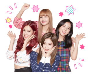 BLACKPINK Official LINE Sticker 2018 photo 3