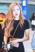 BLACKPINK Rose Airport Photo 18 August 2018 Incheon 15