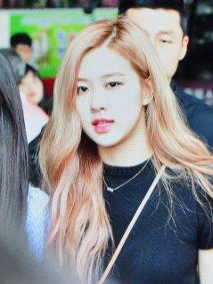 BLACKPINK Rose Airport Photo 18 August 2018 Incheon 7