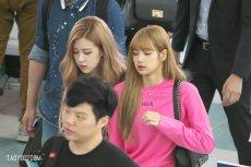 BLACKPINK Rose Lisa Chaelisa Airport Photo 18 August 2018 Incheon 4