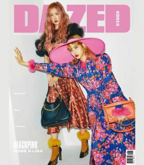 BLACKPINK Rose Lisa Dazed Korea Magazine Autumn 2018 Issue