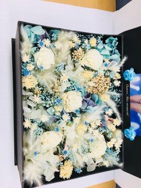 BLACKPINK Rose comeback support rose fan union lunchbox flower candies 17