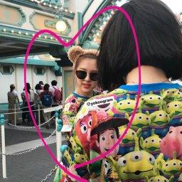 BLACKPINK Rose spotted at Tokyo DisneySea 3