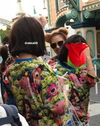 BLACKPINK Rose spotted at Tokyo DisneySea