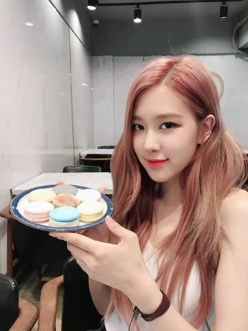 BLACKPINK Rose tvn wednesday food talk 2