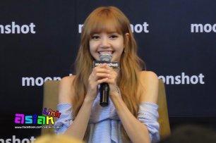 Day 1 BLACKPINK Lisa moonshot fansign event Bangkok Thailand 22