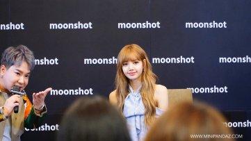 Day 1 BLACKPINK Lisa moonshot fansign event Bangkok Thailand 27