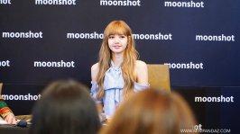 Day 1 BLACKPINK Lisa moonshot fansign event Bangkok Thailand 29