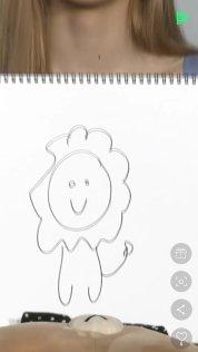 blackpink line live lisa draw lion