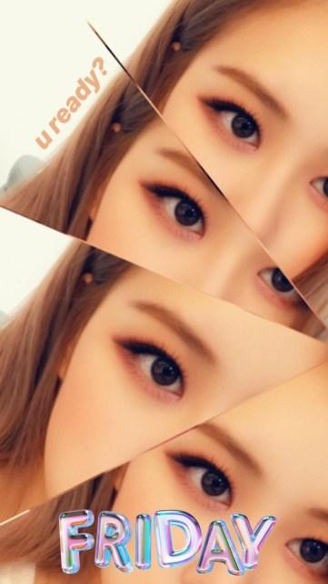 cover BLACKPINK Rose Instagram Story 24 August 2018