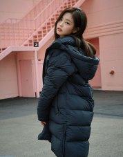 BLACKPINK Jennie Adidas Long Padded Coats