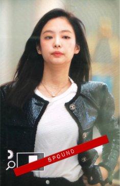 1-BLACKPINK Jennie Airport Photos Incheon to Paris Fashion Week