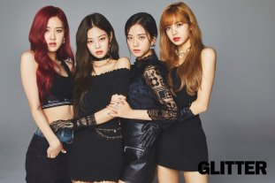 1-HQ BLACKPINK GLITTER Magazine Japan October 2018 issue
