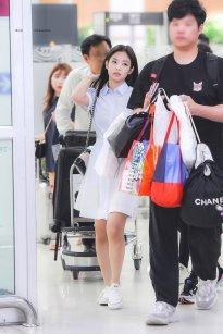 1. BLACKPINK Jennie Airport Photo 31 August 2018 Gimpo