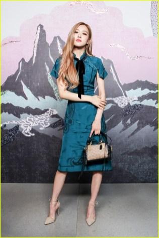 10-BLACKPINK Rose COACH New York Fashion Week 2018