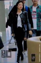109-BLACKPINK Jennie Airport Photos Incheon to Paris Fashion Week