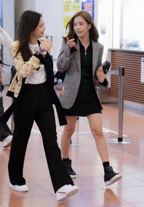 12-BLACKPINK Airport Photo 17 September 2018 Haneda Japan