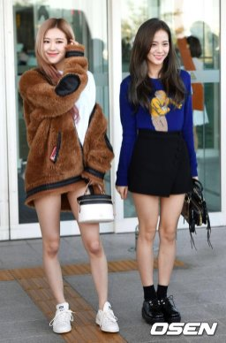 12-BLACKPINK Jisoo Airport Photo Incheon New York Fashion Week