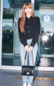 13-BLACKPINK Lisa Airport Photo Incheon New York Fashion Week