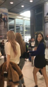 15-BLACKPINK Rose JFK Airport Photo New York City