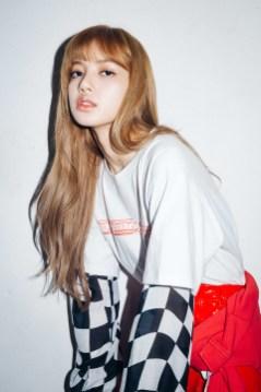 17-BLACKPINK Lisa X-girl Japan Nonagon Collaboration