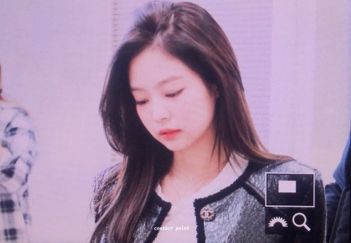 18-BLACKPINK Jennie Airport Photos Incheon to Paris Fashion Week