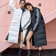 BLACKPINK Jisoo Jennie Jensoo Adidas Long Padded Coats