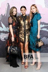 2-BLACKPINK Jisoo Rose Selena Gomez COACH New York Fashion Week 2018