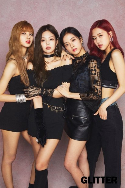 2-HQ BLACKPINK GLITTER Magazine Japan October 2018 issue