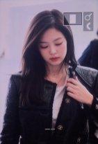 21-BLACKPINK Jennie Airport Photos Incheon to Paris Fashion Week