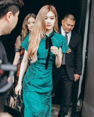 22-BLACKPINK Jisoo Rose COACH New York Fashion Week 2018
