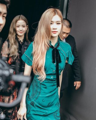 23-BLACKPINK Jisoo Rose COACH New York Fashion Week 2018