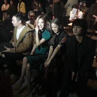 24-BLACKPINK Jisoo Rose COACH New York Fashion Week 2018