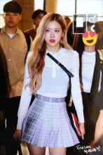 25-BLACKPINK Rose Airport Photo 17 September 2018 Gimpo to Japan