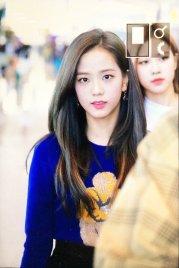 26-BLACKPINK Jisoo Airport Photo Incheon New York Fashion Week