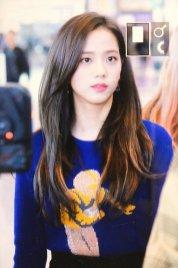 29-BLACKPINK Jisoo Airport Photo Incheon New York Fashion Week