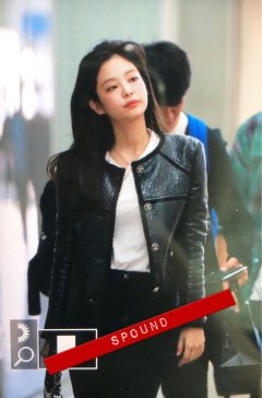 3-BLACKPINK Jennie Airport Photos Incheon to Paris Fashion Week