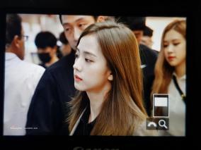3-BLACKPINK Jisoo Airport Photo 17 September 2018 Gimpo to Japan