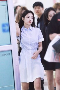 3. BLACKPINK Jennie Airport Photo 31 August 2018 Gimpo
