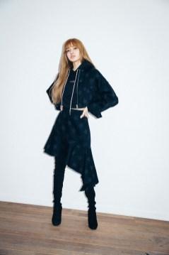 33-BLACKPINK Lisa X-girl Japan Nonagon Collaboration