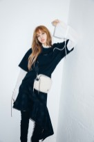 36-BLACKPINK Lisa X-girl Japan Nonagon Collaboration