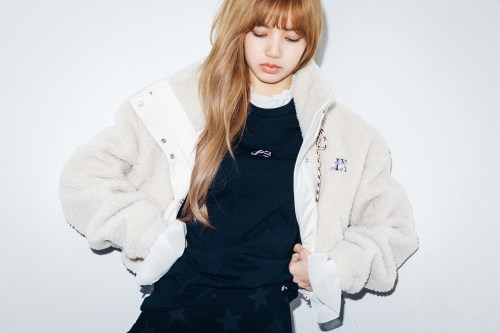 39-BLACKPINK Lisa X-girl Japan Nonagon Collaboration