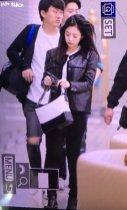 40-BLACKPINK Jennie Airport Photos Incheon to Paris Fashion Week