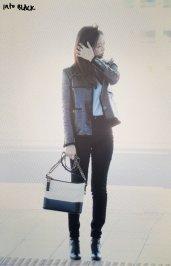 46-BLACKPINK Jennie Airport Photos Incheon to Paris Fashion Week