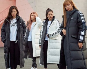 BLACKPINK Adidas Long Padded Coats