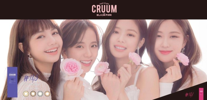5-BLACKPINK-CRUUM-Japan-Contact-Lens-Commercial