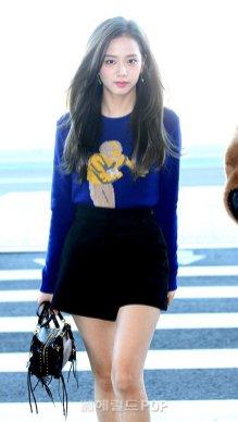 5-BLACKPINK Jisoo Airport Photo Incheon New York Fashion Week