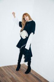 5-BLACKPINK Lisa X-girl Japan 2nd Nonagon Collaboration